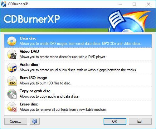 copiere, disc, CD, DVD, Blu-Ray, Windows