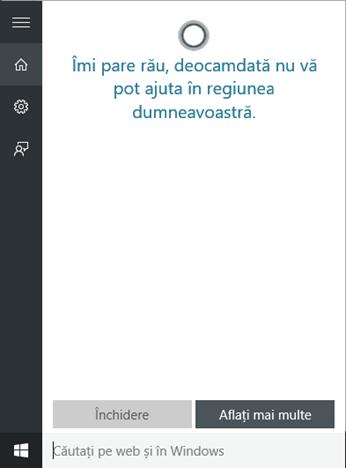 Cortana, Windows 10, activare, pornire, functionare, orice, tara, Romania, limba, oriunde