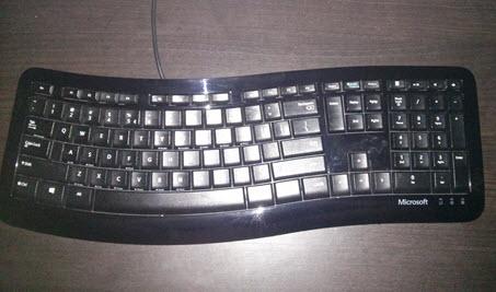 Microsoft, Comfort, Curve, 3000, tastatura, review