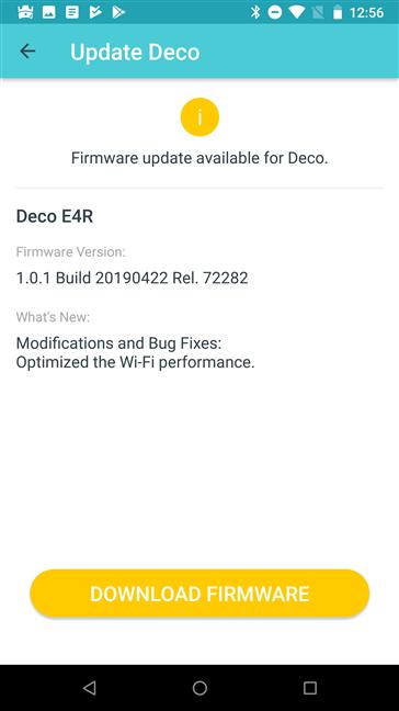 Actualizarea firmware-ului de pe TP-Link Deco E4