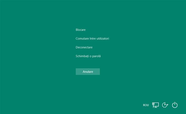 Opțiunea Manager de activități este eliminată de pe ecranul Ctrl + Alt + Del