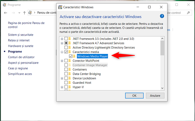Debifare Windows Media Player
