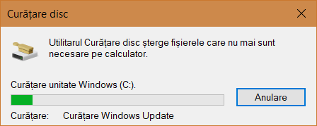 Curatare Disc, Disk Cleanup, Windows