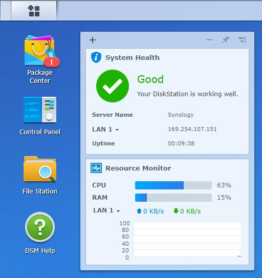 DiskStation Manager (DSM)