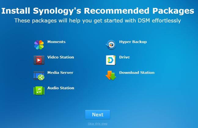 Instalarea pachetelor recomandate pentru DSM