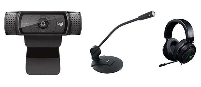Diverse dispozitive de înregistrare sunet folosite pe PC-uri