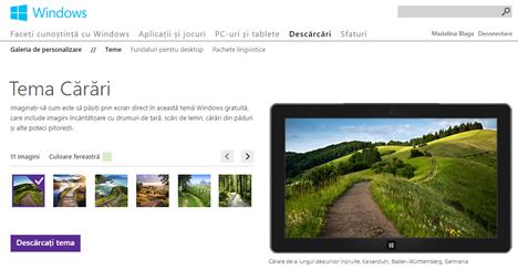 Windows, teme, download, gratis, descarca