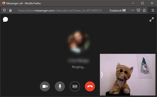 Utilizarea unui telefon cu Android ca webcam în Facebook Messenger pe PC