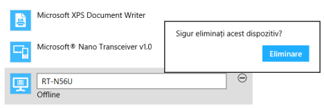 Cum se adaugă dispozitive din Setări PC, în Windows 8