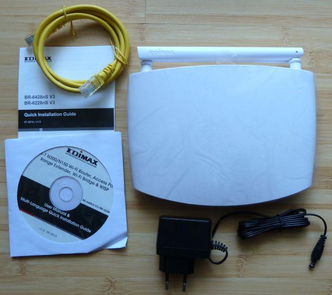 Edimax, BR-6428nS V3, router, wireless, recenzie