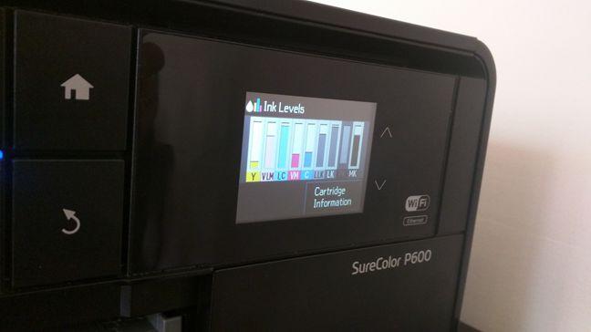 Epson SureColor P600, imprimanta, foto, wireless