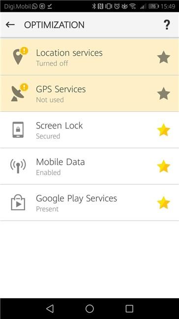 Optimizări pentru modulul antifurt oferit de ESET Mobile Security pentru Android