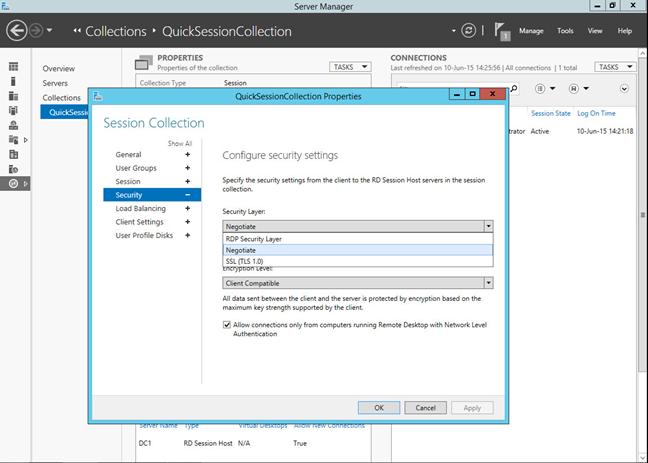 Configurare Remote Desktop în ESET Secure Authentication
