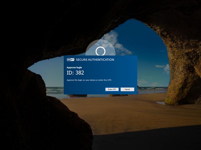 Autentificarea multi-factor pe ecranul de blocare Windows