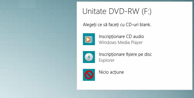 Windows, File, Explorer, inscriptionare disc