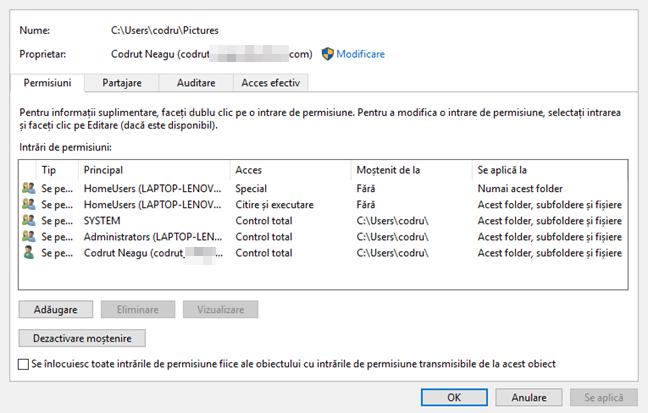 File Explorer, Windows, partajare, fisiere