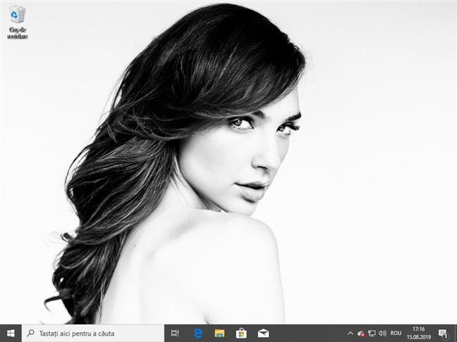 Desktop-ul în Windows 10