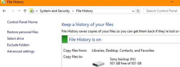 File History