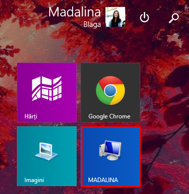 ecran start, dale, fixare, Windows 8.1