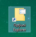 Optiuni Folder, Optiuni Explorer, Folder Options