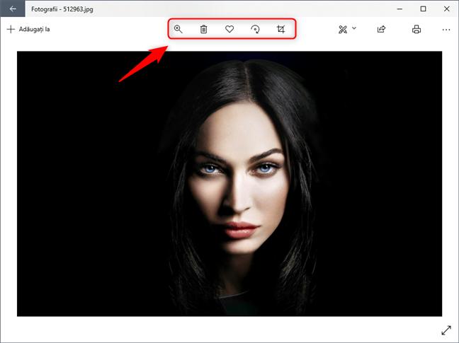 Unelte simple de editare pentru imagini
