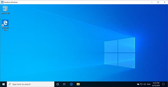 Cele mai bune lucruri din Windows 10: Sandbox Windows
