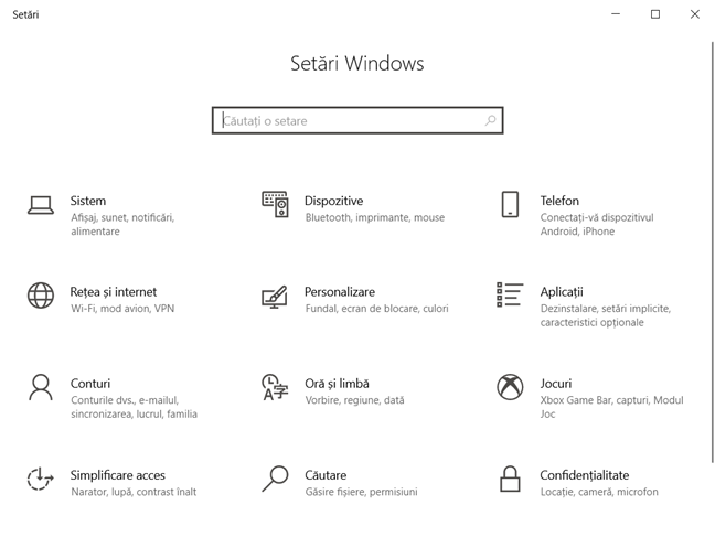 Cele mai bune lucruri din Windows 10: Aplicația Setări