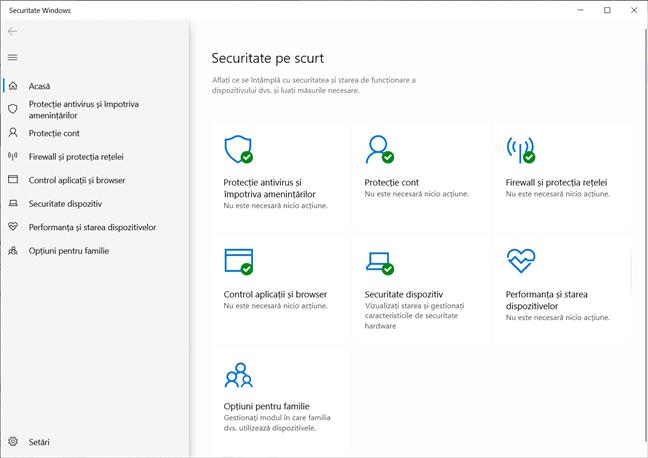 Cele mai bune lucruri din Windows 10: Securitate Windows