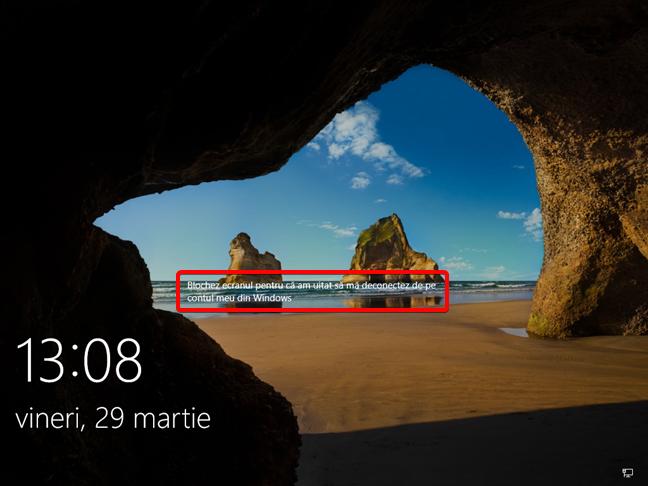 Windows 10 este blocat de la distanță cu un mesaj afișat pe ecran