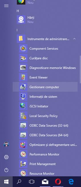 Windows, Gestionare Computer, Computer Management