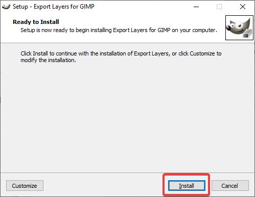 Instalarea plugin-ului Export Layers pentru GIMP