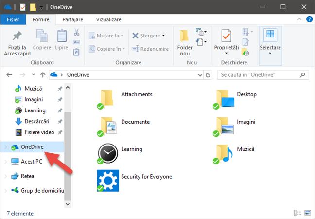 Windows 10, Muzica Groove, OneDrive