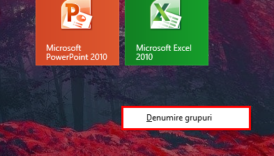 grupeaza, scurtaturi, dale, comezi rapide, Windows 8.1