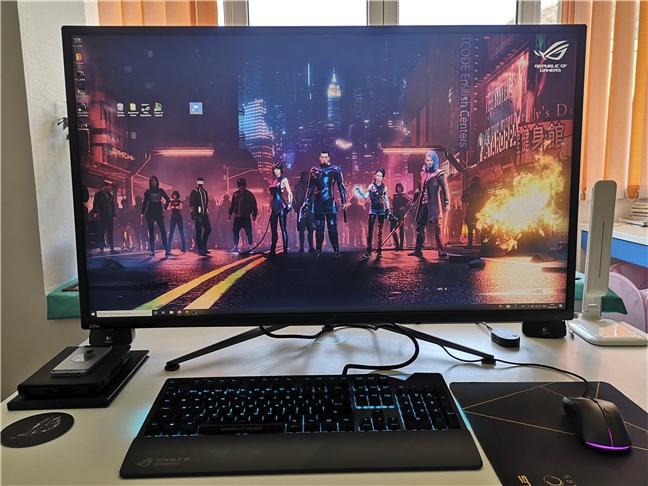 Un monitor de calculator cu HDR