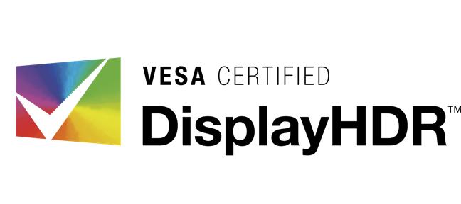 Logo VESA Certified DisplayHDR