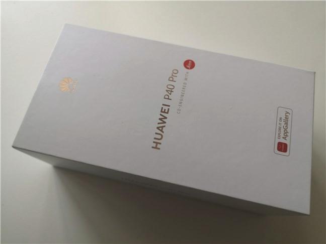 Huawei P40 Pro: Cutia