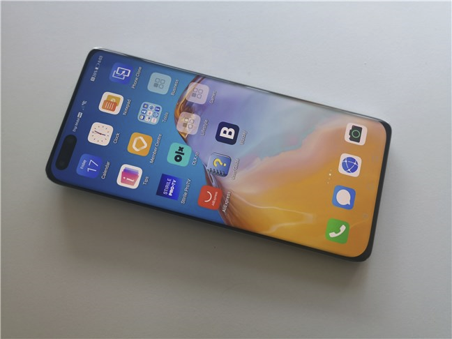 Huawei P40 Pro: ecran OLED și rată de reîmprospătare de 90 Hz