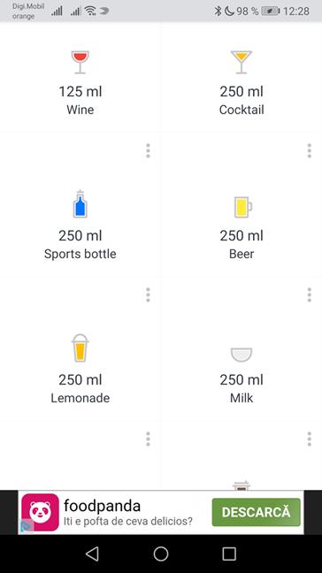 Introducerea de alte tipuri de băuturi în afara apei în Hydro Coach cu reclame