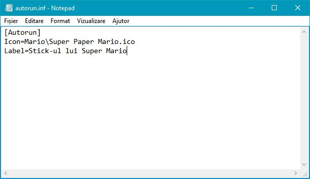 iconita, nume, personalizat, unitate, memorie, amovibila, USB, disc, CD, DVD, Blu-Ray, Windows