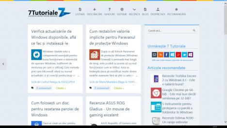 Internet Explorer, Windows 8.1, configurare, optiuni, redare, setari