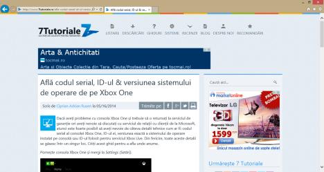 Internet Explorer 11, default, version, app, desktop, Windows 8.1