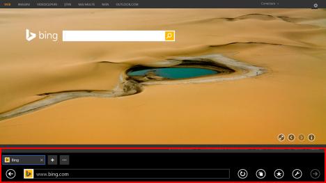 Internet Explorer 11, tactila, versiune, cum, Windows 8.1