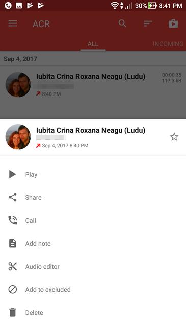 Android, inregistrare, apeluri, aplicatii