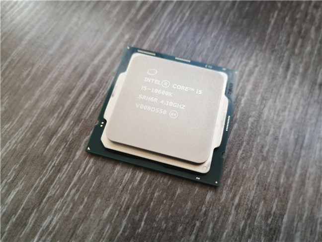 Procesorul Intel Core i5-10600K