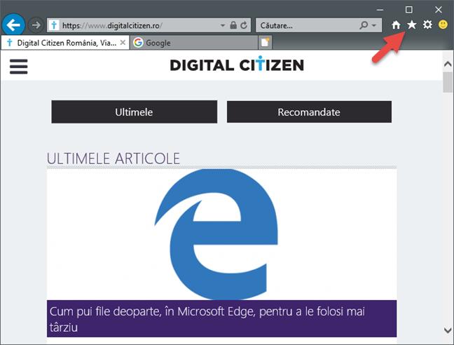 Internet Explorer, file, anterioare