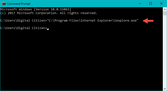 Internet Explorer, Windows