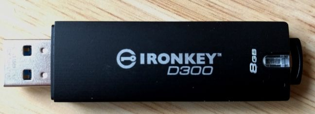 IronKey D300, Kingston, USB, memorie, stick, criptare