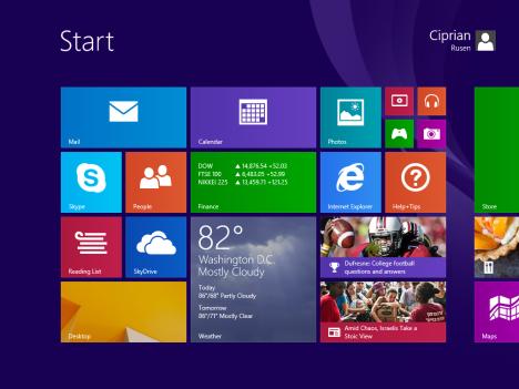 Windows 8.1, RTM, Setup, Instalare, Personalizare