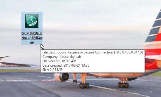 Kaspersky Secure Connection, VPN