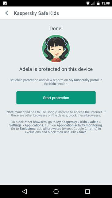 Kaspersky Safe Kids, Android, review, control parental